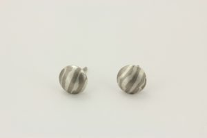 white gold pill studs