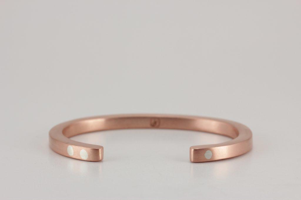 copper antithesis bracelet