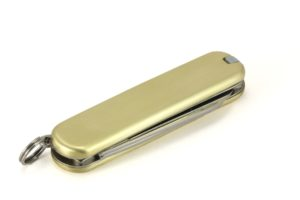 Solid Brass pocket knife